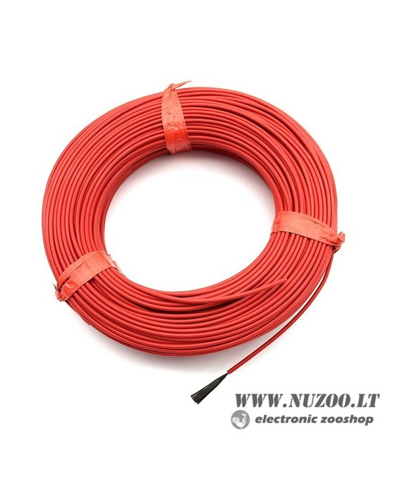 15m 12K 33Ohm 2.3MM Teflon Carbon Heating Cable, Hotline Wire