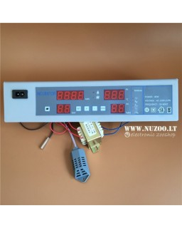 Incubator Control Panel With Hydrometer 220V