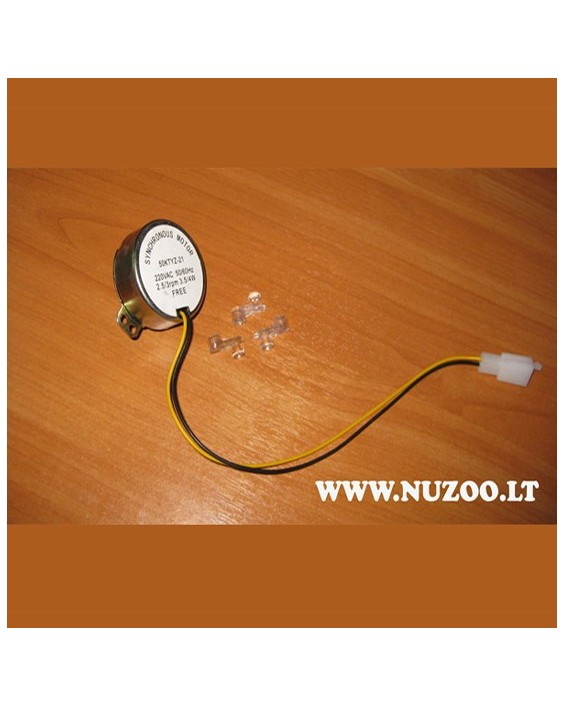 Egg Turning Motor For Incubator 4w