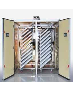 Profesionalus automatinis inkubatorius paukščių perinimui 3200 talpos