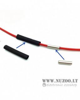 15m 12K 33Ohm 2.3MM Teflon Carbon Fiber Heating Cable Hotline Wire
